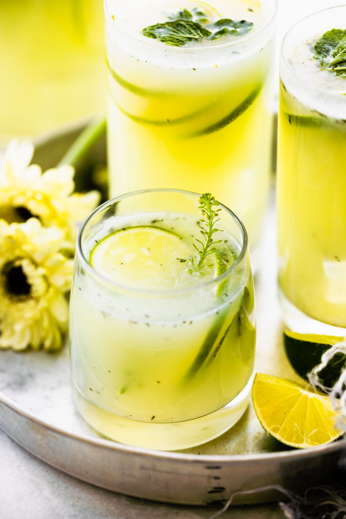 Brazilian Limeade Lemonade No Refined Sugar Cotter Crunch In 2020 Brazilian Lemonade Vegan Sweetened Condensed Milk Lemonade Recipes