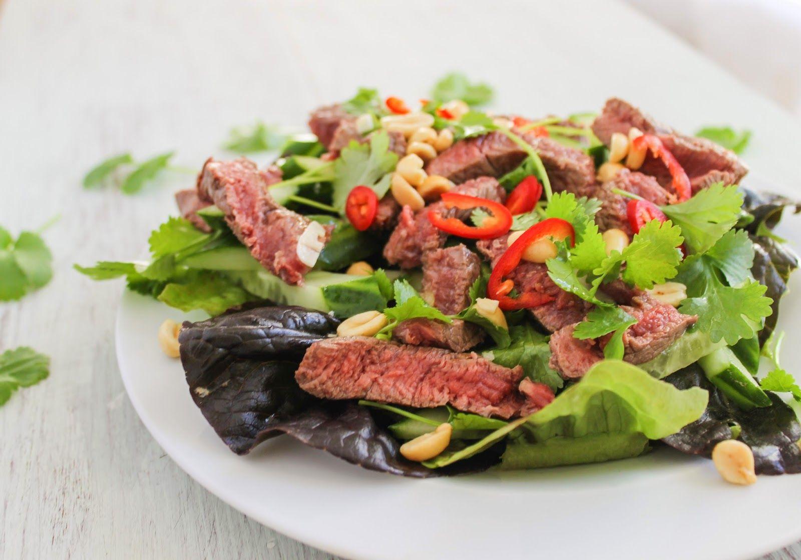 Thai Style Beef Salad