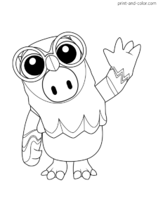 Fall Guys Coloring Pages Coloring Pages Guy Drawing Drawings