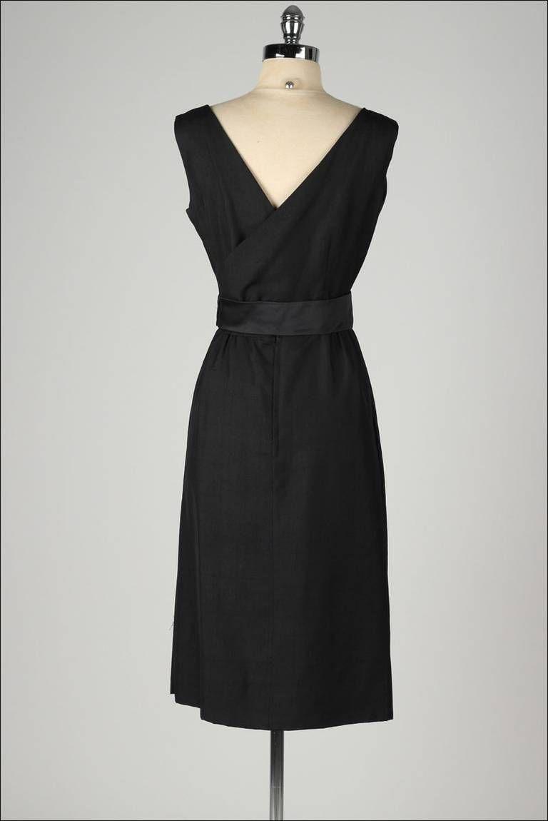 Vintage 1950's Harvey Berin Cocktail Dress