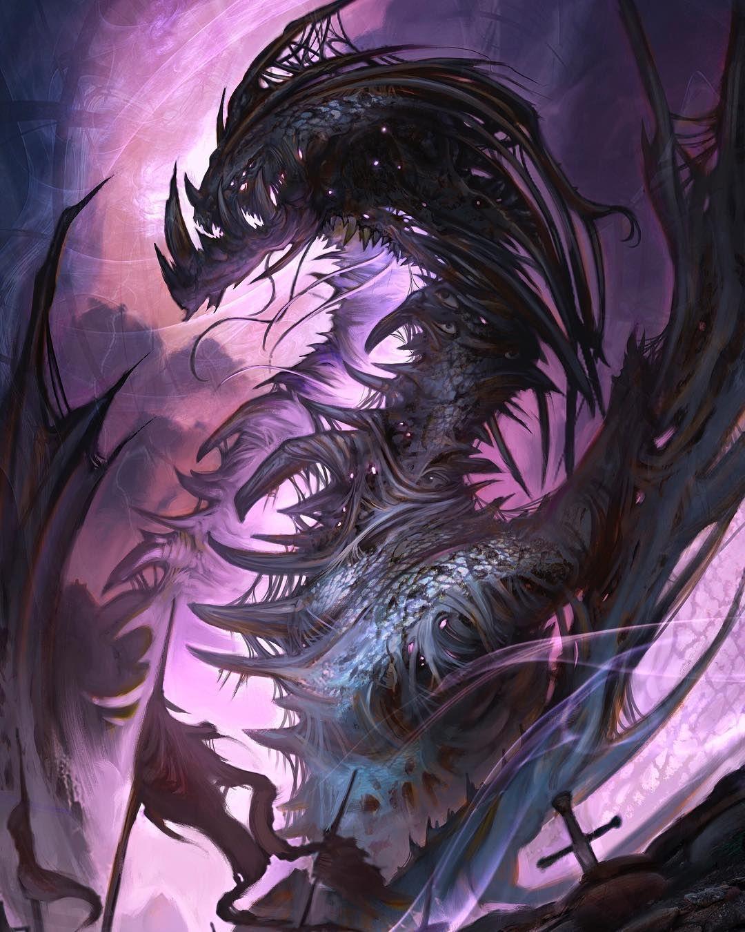 картинки с призрачными драконами поможет вам сделать