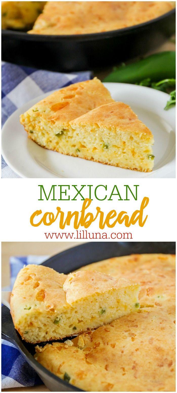Jalapeño Cornbread #mexicancornbreadcasserole