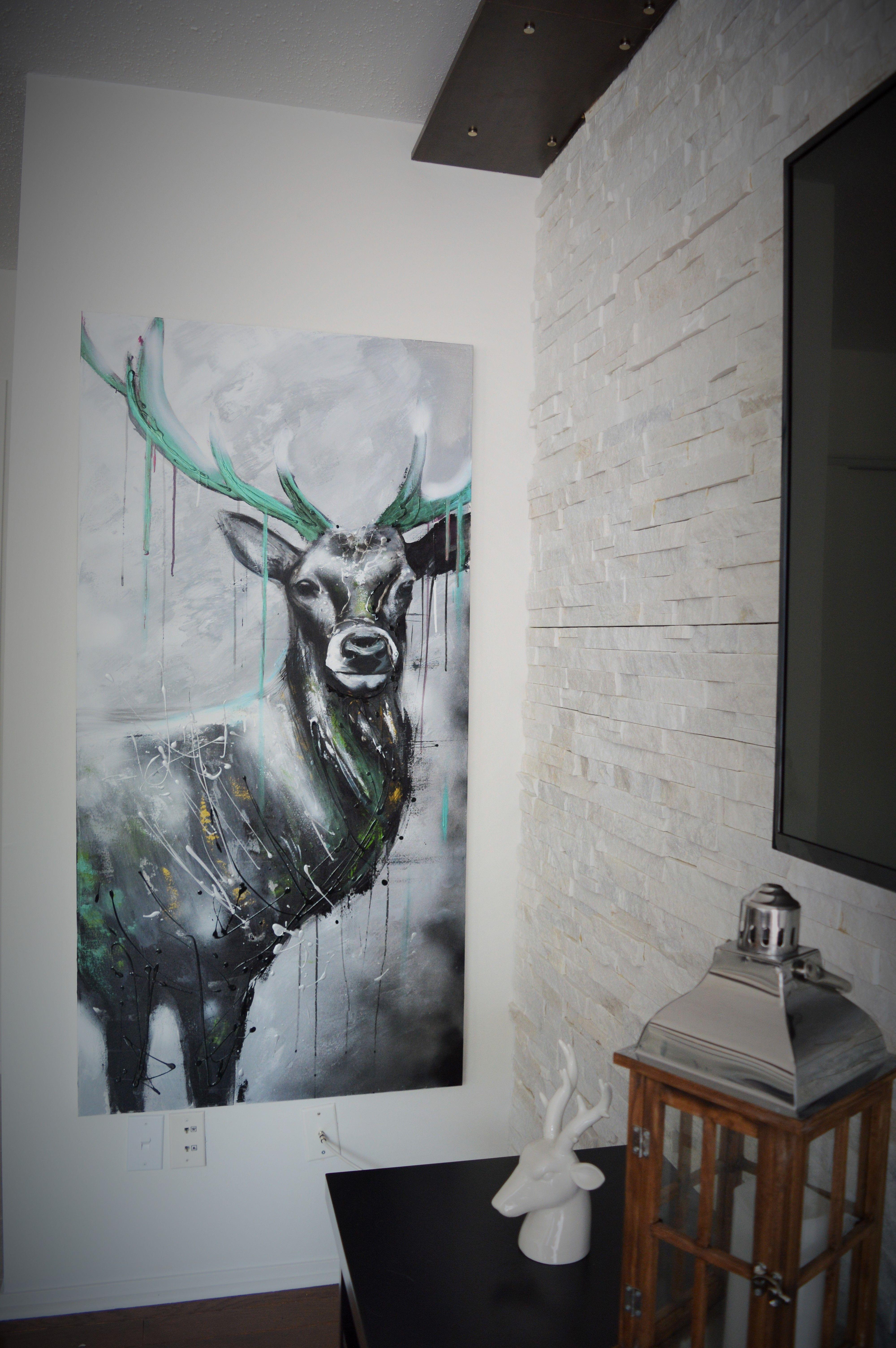 39 39 monsieur muscles 39 39 30x60 pouces acrylique sur toile mahlen pinterest malerei malen - Leinwand bemalen ideen ...