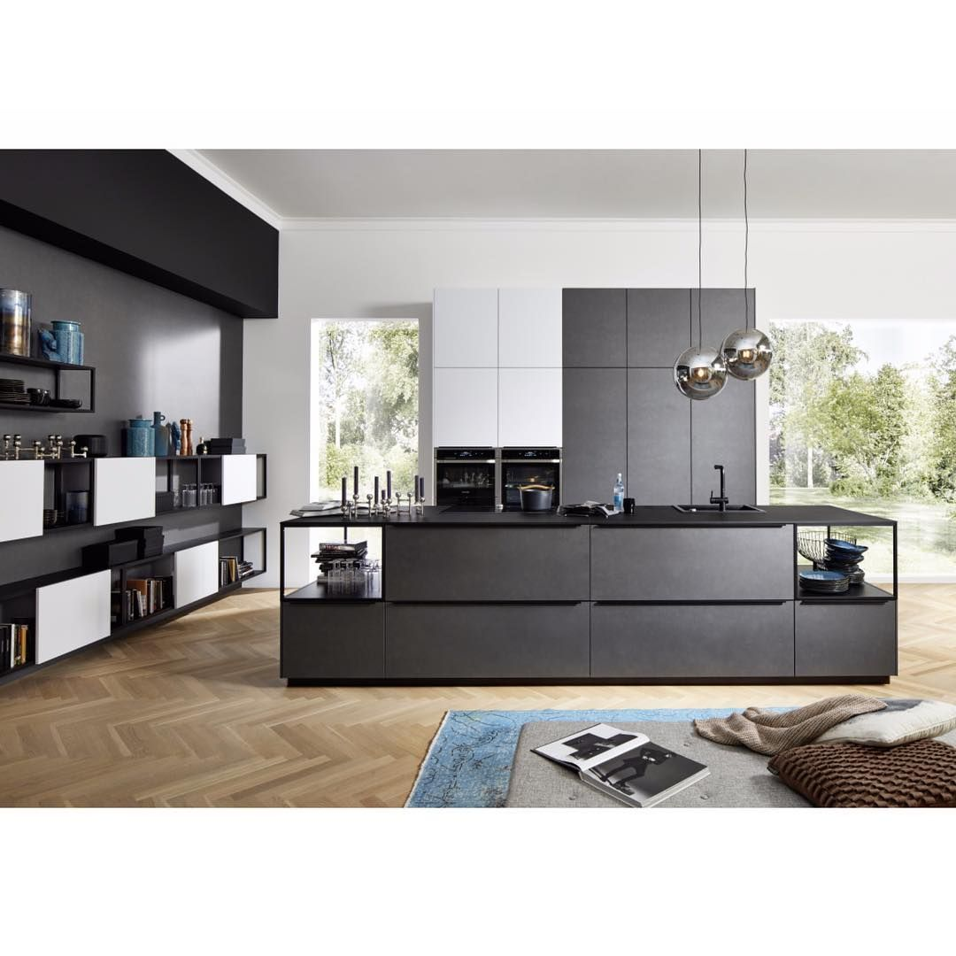 Nolte Usa Kitchens Baths On Instagram Exclusive Kitchen Cabinetry Made In Germany Ferro Blaustahl Sof House Interior Home Decor Kitchen Arrangement