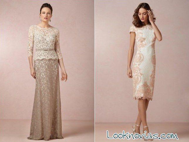 Modelos de vestidos para mama del novio