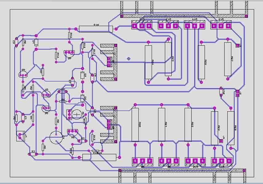 1000w Power Amplifier Circuit Diagram Pcb - Somurich com