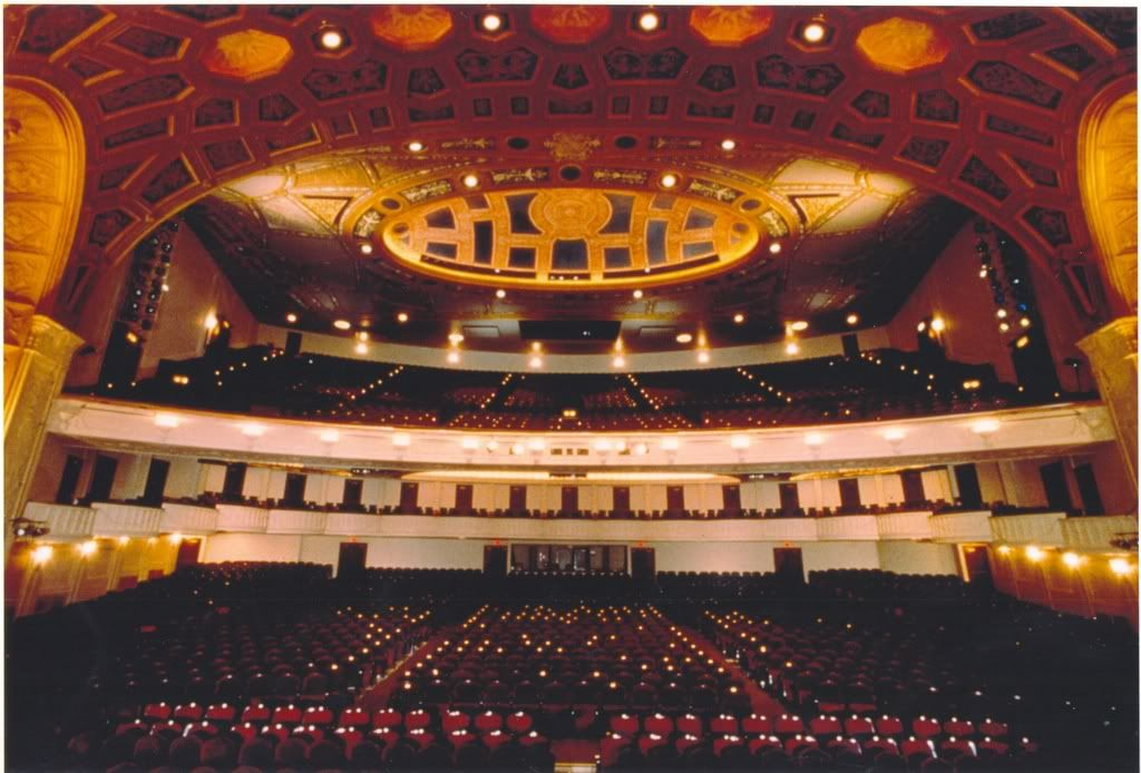 detroit opera house - where my college graduation was | from detroit