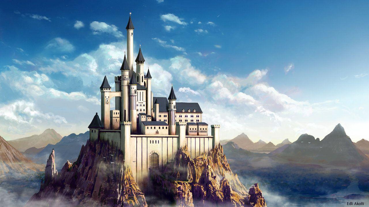 Картинки фэнтези дворец замок