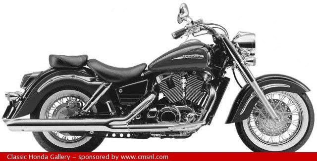1998 Honda VT1100V3 - Shadow Aero | Honda motorcycles ...