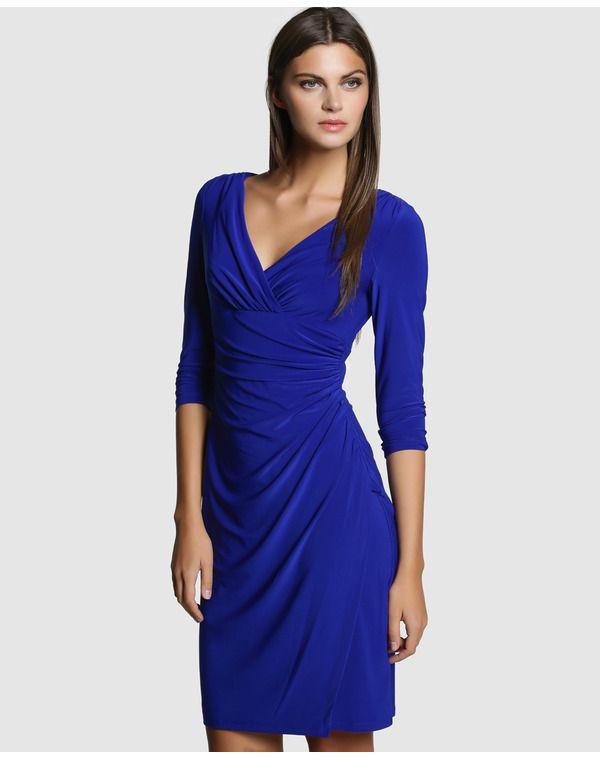 Vestido Ralph Lauren Azul