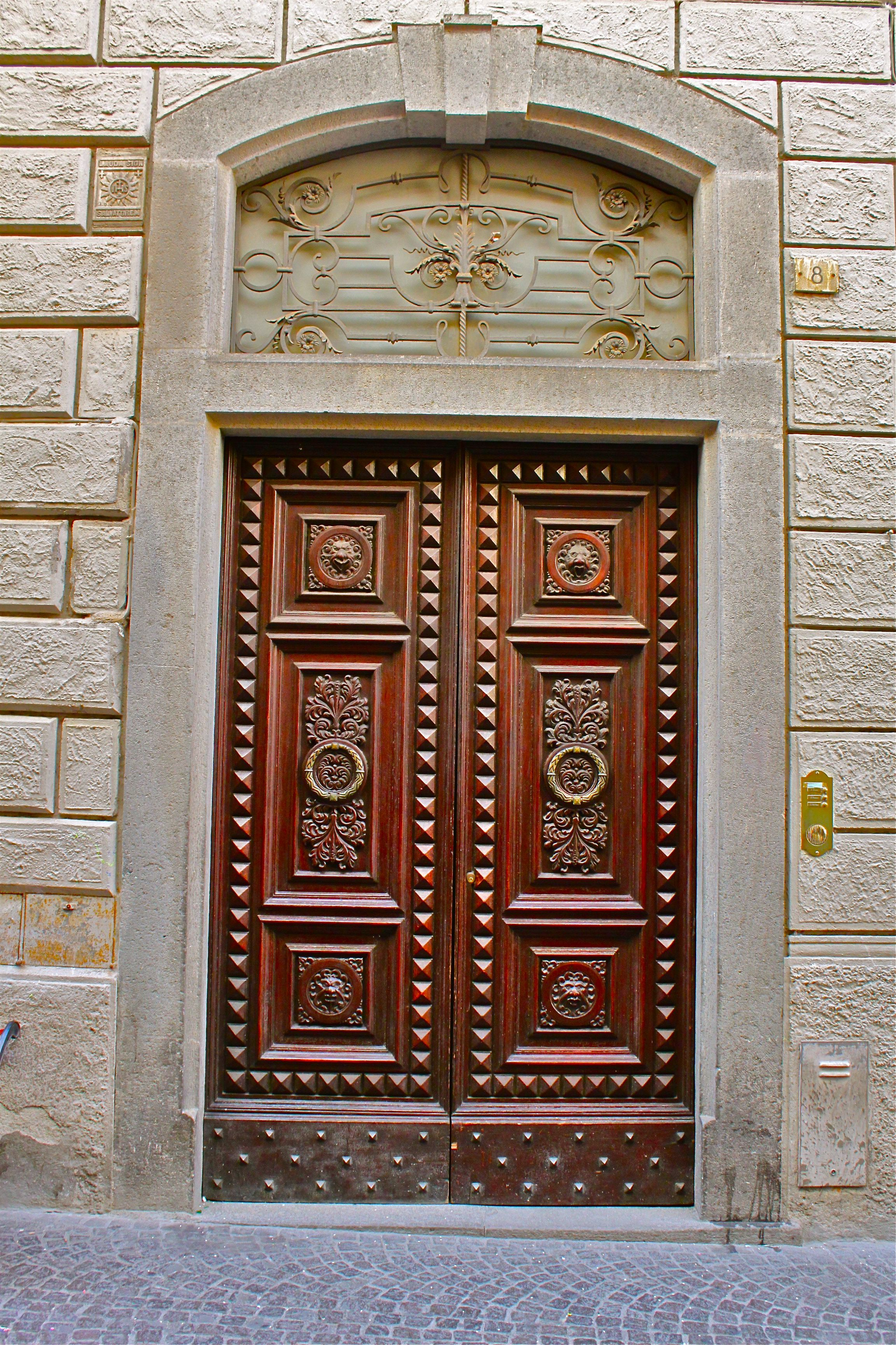 Exquisite Front Entry Doors At Home Depot Fiberglass: Orvieto, Italy... A Showcase Of Exquisite Italian Pottery