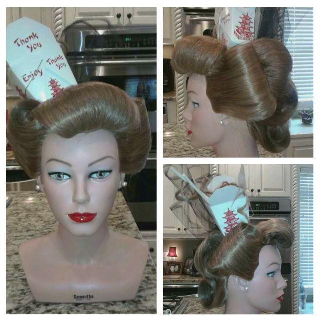 Chinese Fantasy Updo by Stephanie Phillips