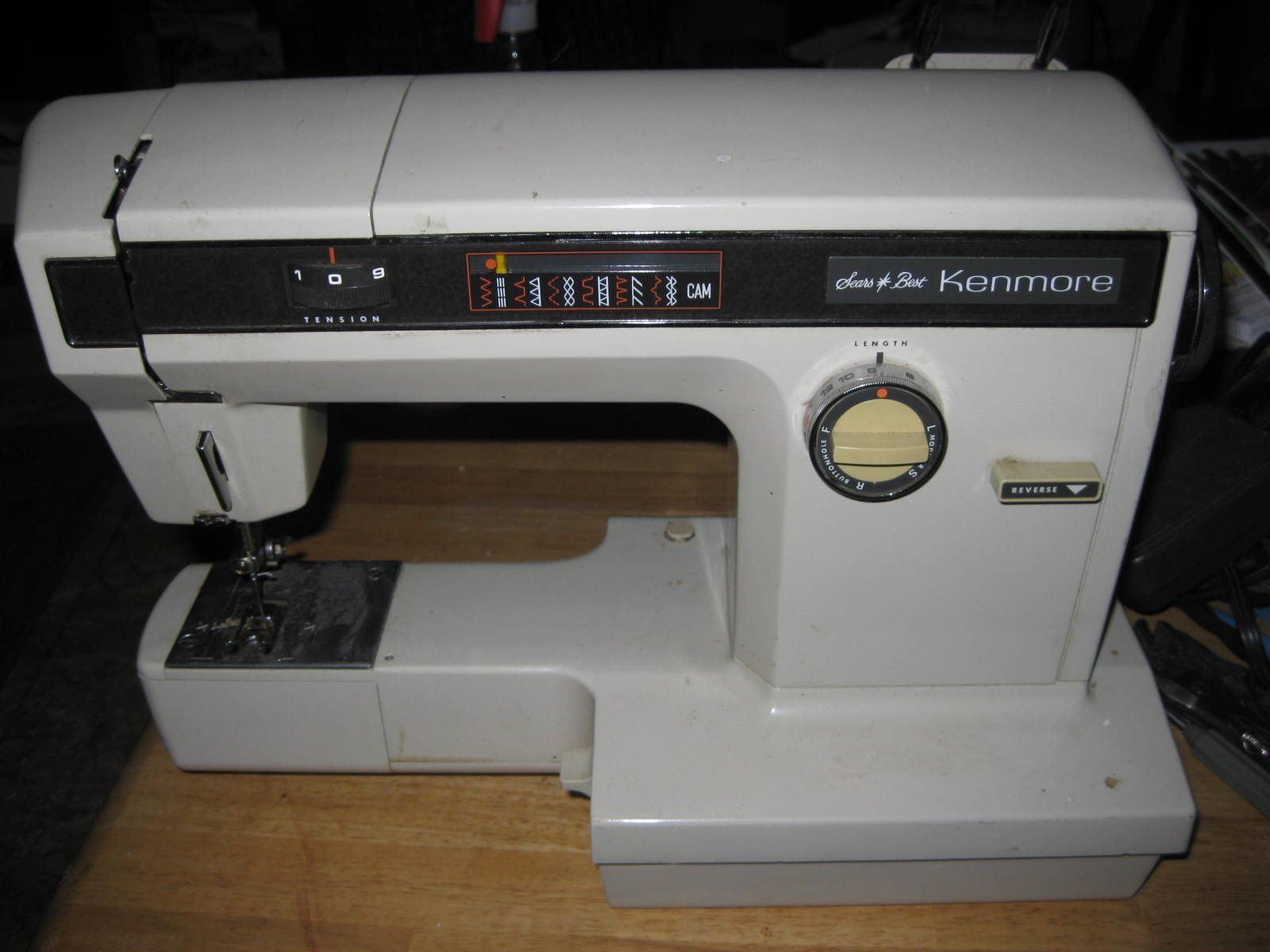 Sears Kenmore 158.1914 Free Arm Decorative Stitch Selector ...