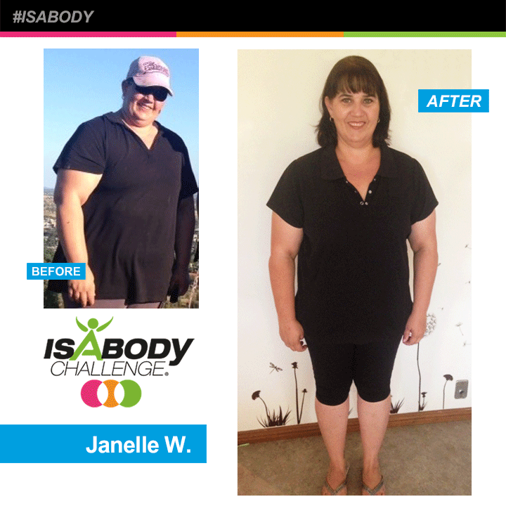 After years of dieting, Associate Janelle M. experienced limited results and always seemed to end up heavier than when she started. She also struggled with exercise thanks to knee reconstruction surgery that she underwent 20 years ago, so much so that she would be barely able to walk for a few days after light exercise. So when Janelle was introduced to Isagenix® at a local meeting, little did she know that her life was about to change.