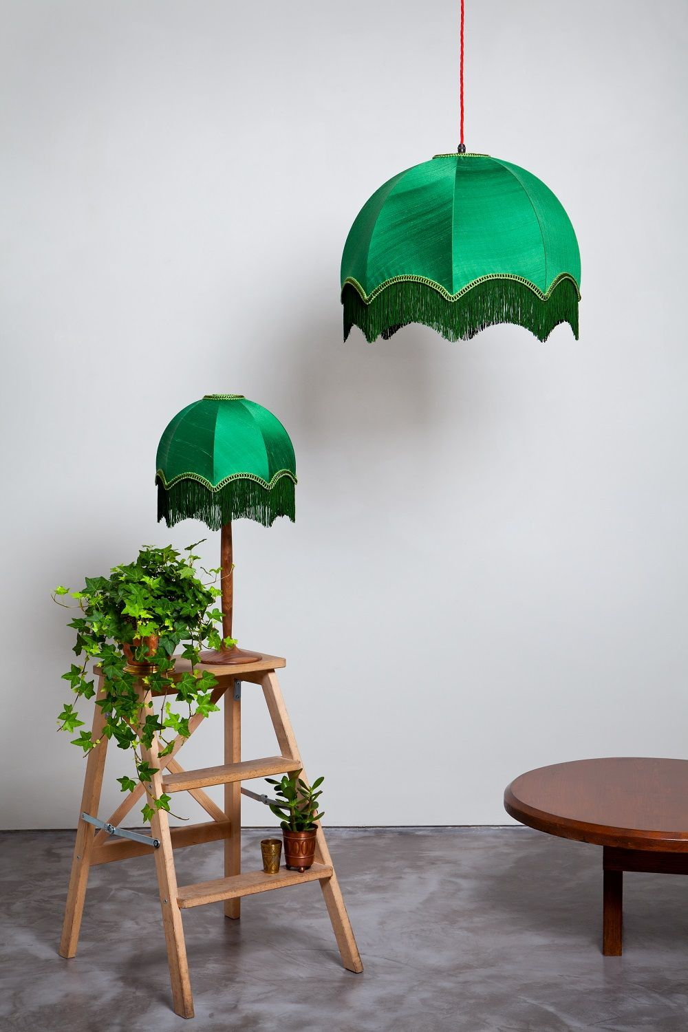 Forest Lampshade Collection Made By Hand At Shady And The Lamp Green Silk Lampshades Tiffany Green Lamp Shade Vintage Lampshades Traditional Lamp Shades