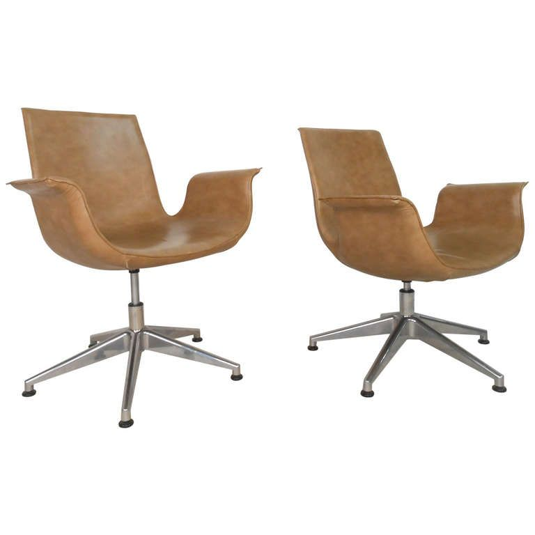 Horseman Antiques Inc Pair Of Leather Swivel Officedining Inspiration Leather Swivel Dining Room Chairs Design Inspiration