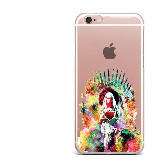 Game Of Thrones Clear Soft Phone Cases For iPhones