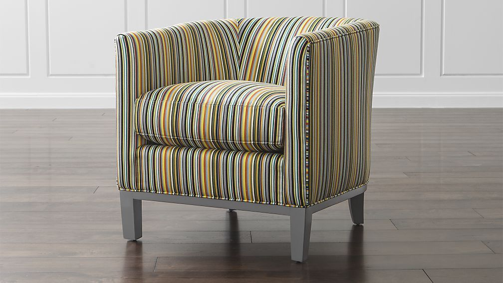 Barrel chair drew chair crate and barrel chair living