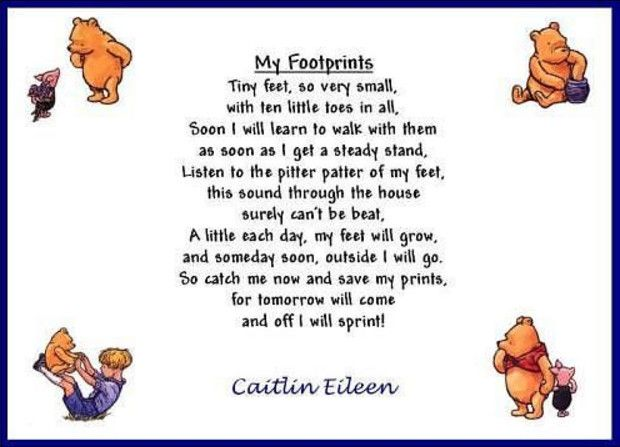 Winnie The Pooh Baby Shower Poems And How To Put
