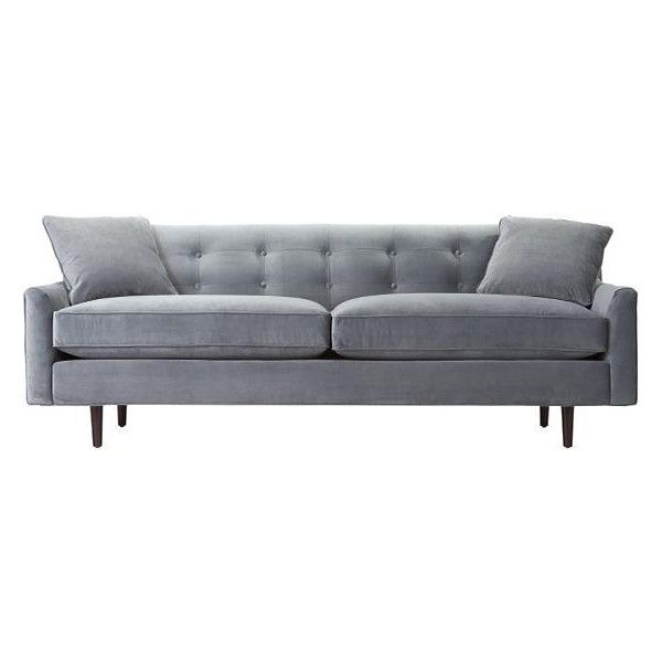 Custom Korey Upholstered Sofa 1 249 Liked On Polyvore