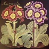 elizabeth bradley needlepoint - think I have a book that contains this pattern.  I love primroses.