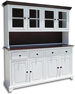 Whitewood Industries H 4 Hutch And B Buffet