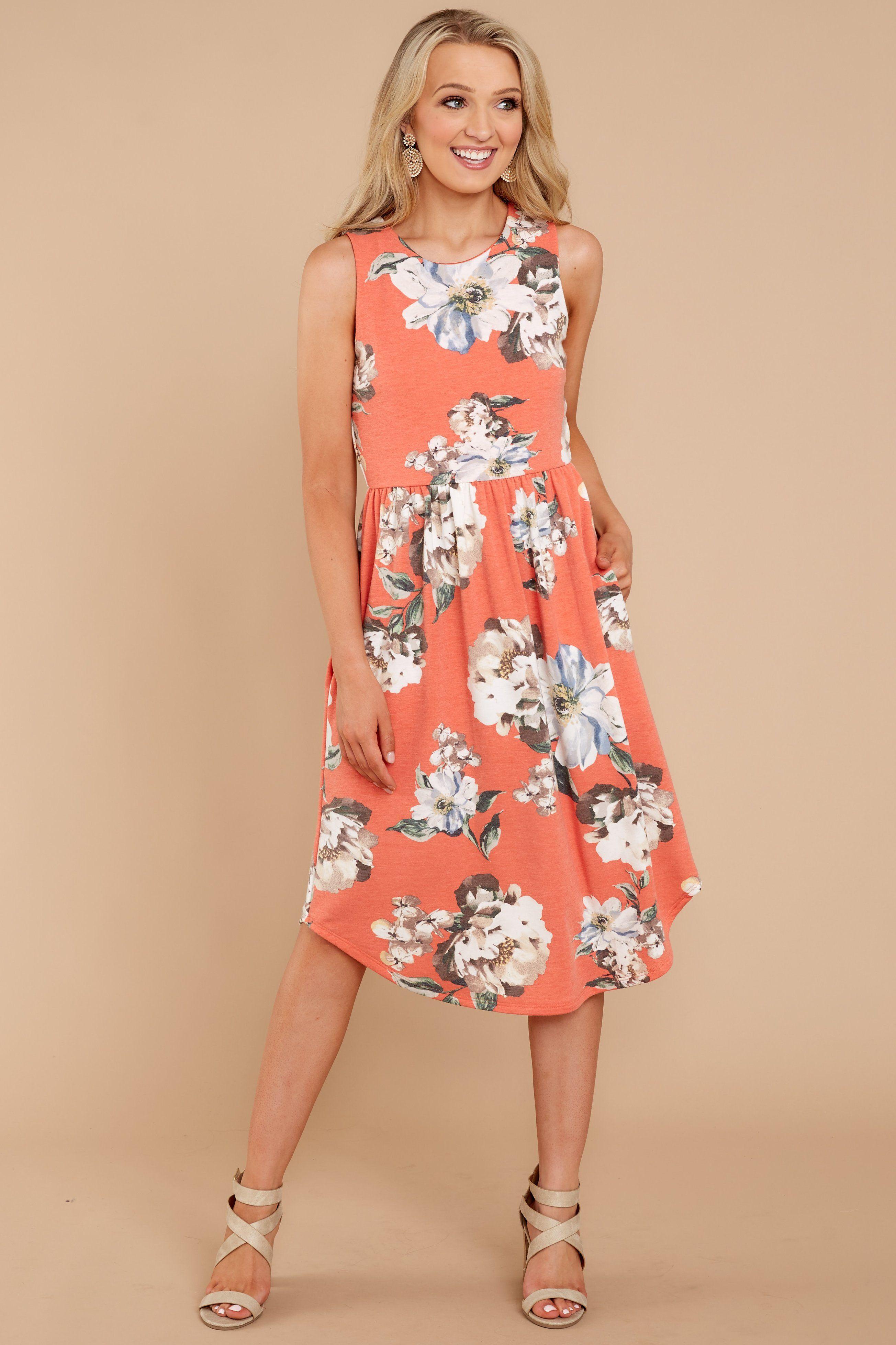a07e6105ed Cute Floral Print Dress - Chic Dress - Dress -  42.00 – Red Dress Boutique
