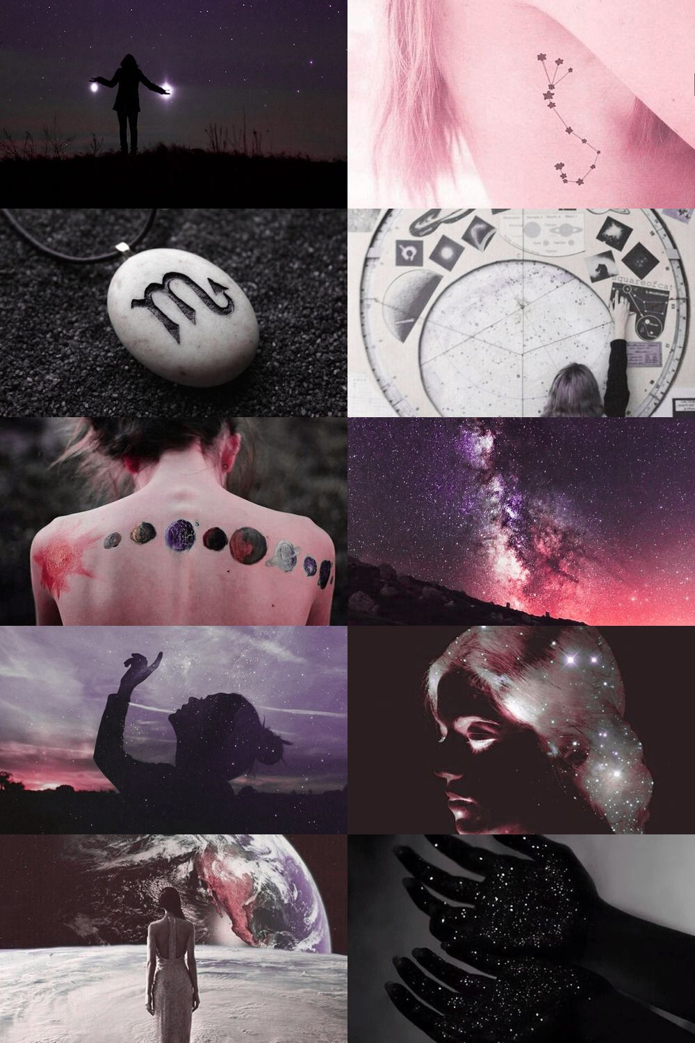 deep space/scorpio witch aesthetic (requested) more here