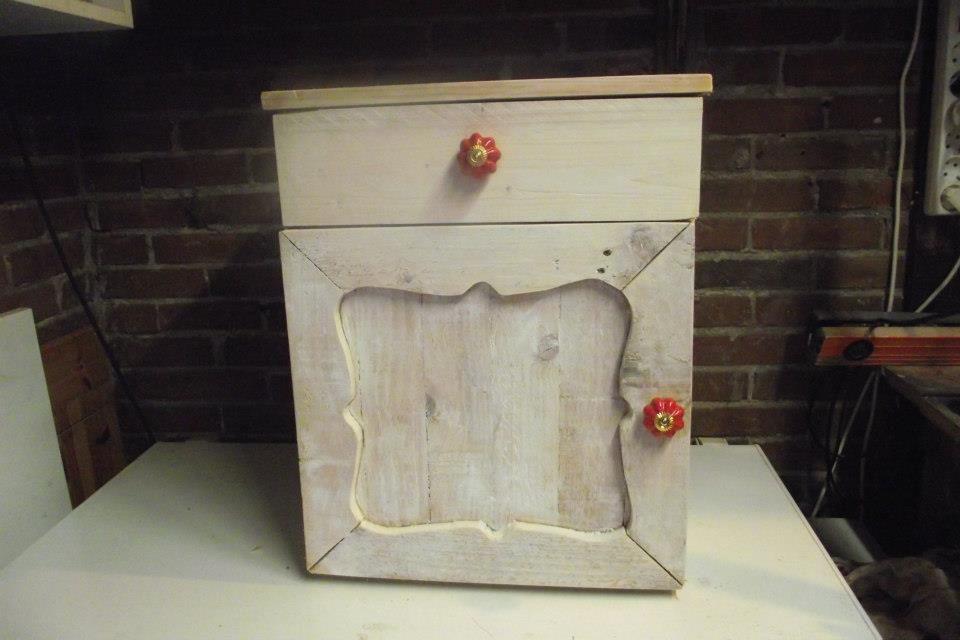 10x Nachtkastje Slaapkamer : Zelf gemaakt nachtkastje van steigerhout nachtkastjes