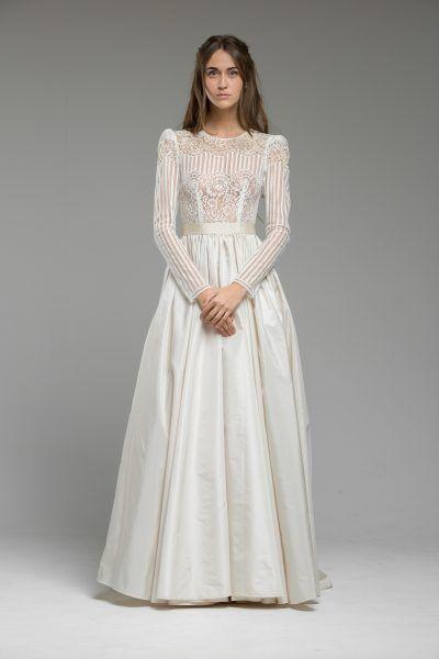vintage-inspired-lace-wedding-dress-dresses-gown-london-UK-boho ...