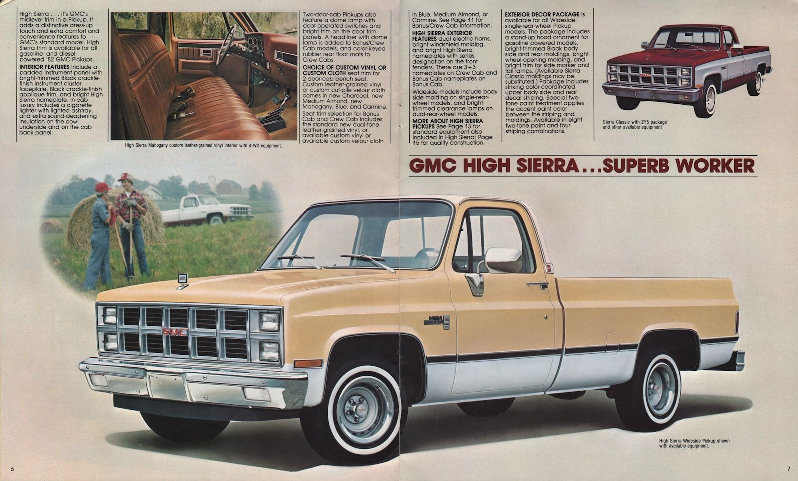 1982 GMC High Sierra | Squarebodies | Pickup trucks, Chevy
