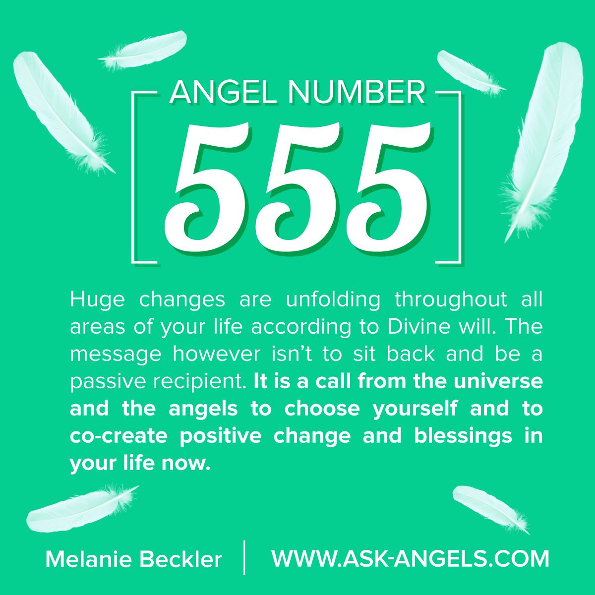 Angel Number 555… What's the Meaning of 555
