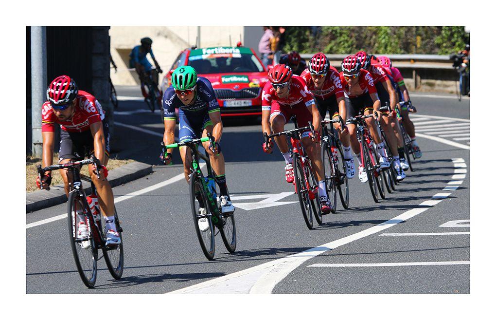 Vuelta Ciclista a España 2016 (a su paso por Nocedal -Bizkaia)