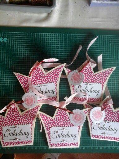 Prinzessin Einladung Was Für Eine Schöne Idee Für Eine Einladung Zum  Kindergeburtstag! Vielen Dank Dafür! Dein Balloonas.com #balloonas # Kindergeburtstag ...