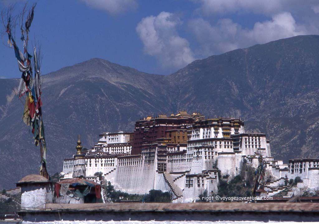 Le Potala a Lhassa  chine