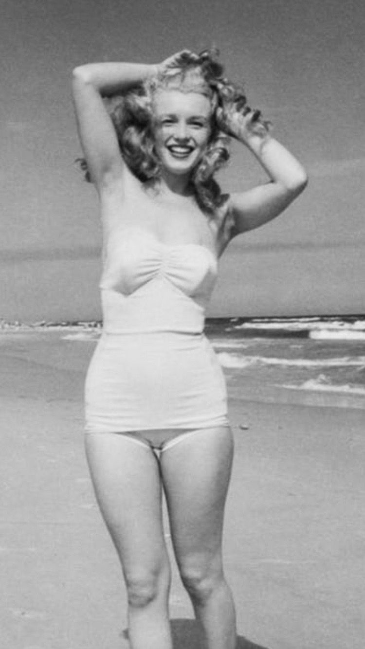 At Tobey Beach Photographed By Andre De Dienes 1949 With Images