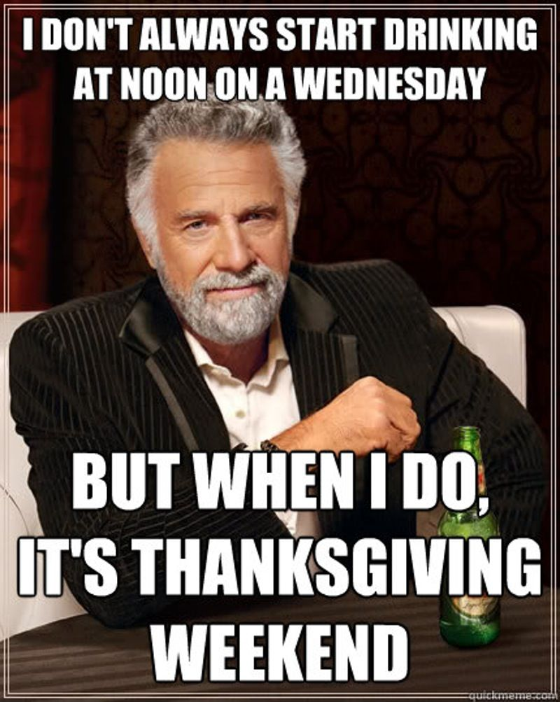 14 Thanksgiving Memes To Help You Survive The Holiday With Your Family
