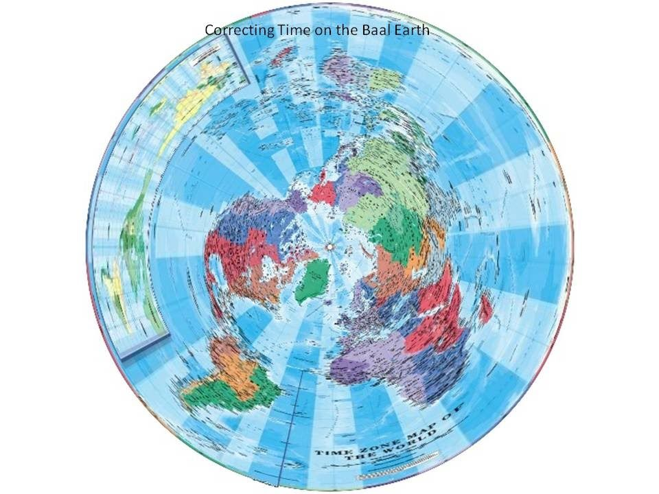Time Zone Map versus the Real Flat Earth   YouTube | Flat Earth