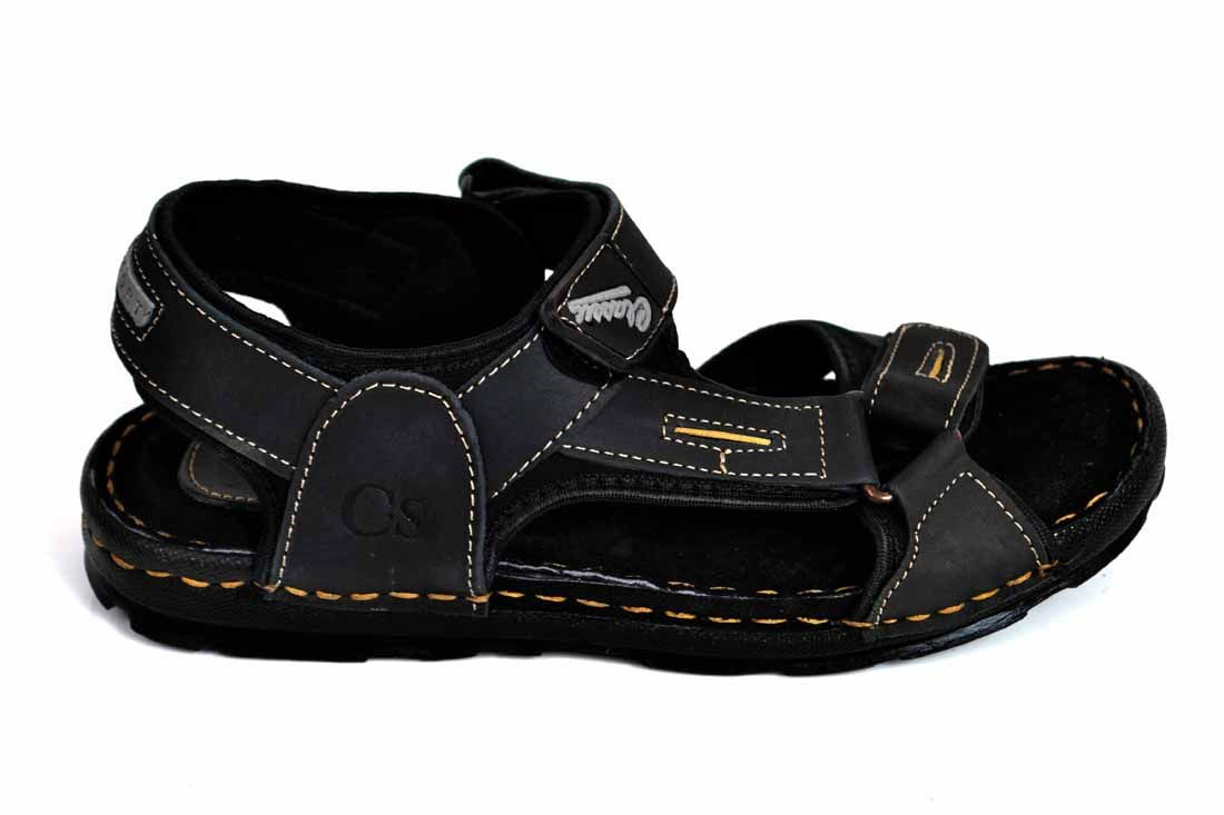 Black Easy Grip Sandal for Men