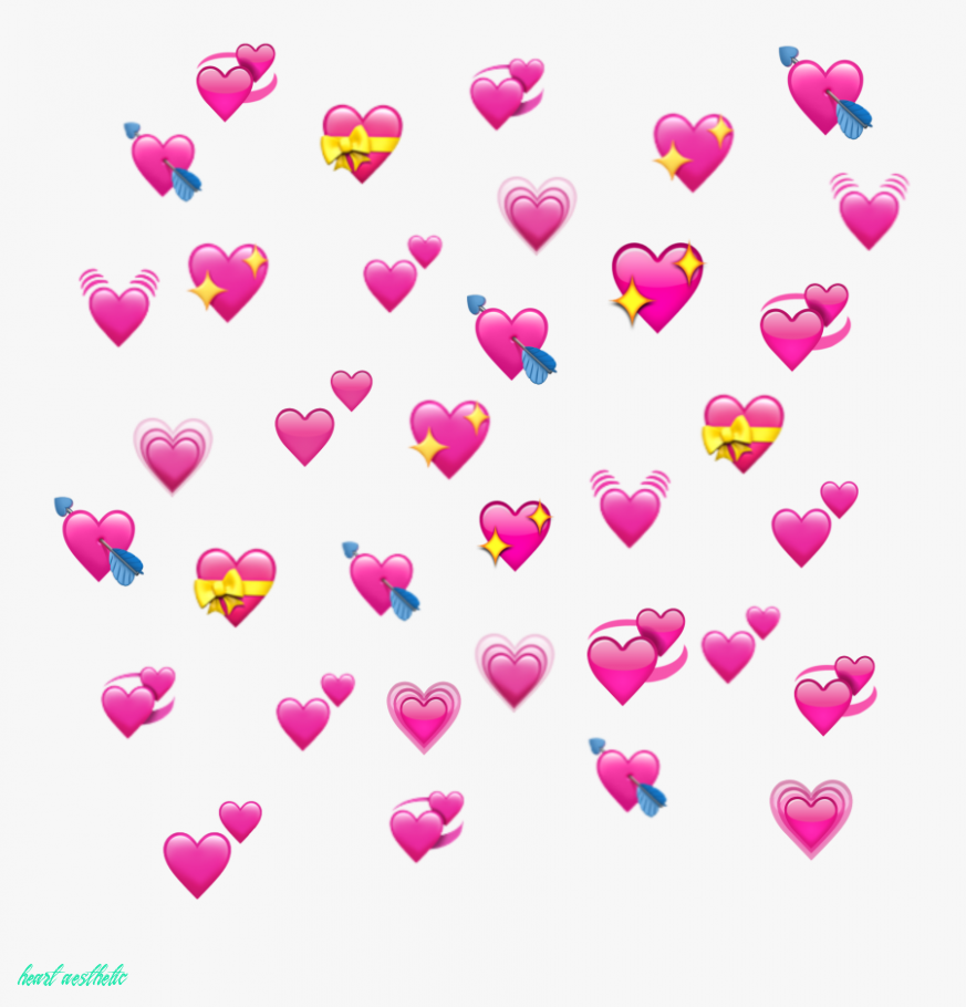 10 Reasons Why You Shouldnt Go To Heart Aesthetic On Your Own Heart Aesthetic In 2020 Pink Heart Emoji Emoji Backgrounds Heart Emoji