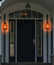 Harvest 2014 Ltd Commodities Porch Light Covers Halloween Porch Lights Porch Lighting