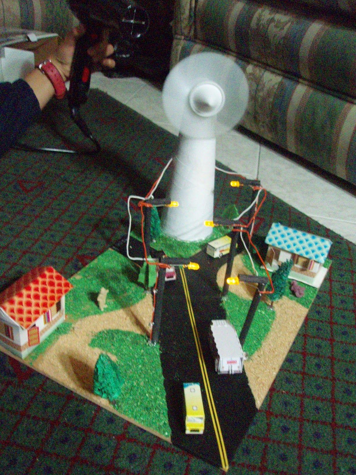 Energía eólica maqueta | maquetas | Pinterest | Maquetas y Experimento