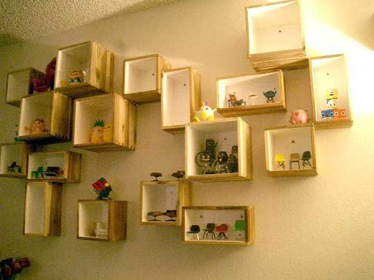 Inspiration: IKEA BJURON Planters as Wall Boxes | Wall storage ...