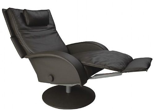 Leather Ergonomic Recliner Chair With Footrest The Home Engine