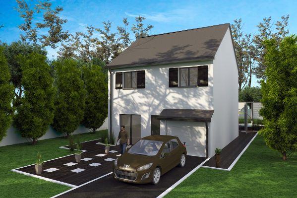 Les Maisons du0027Aujourdu0027hui Maison à étage Pinterest - construire sa maison budget