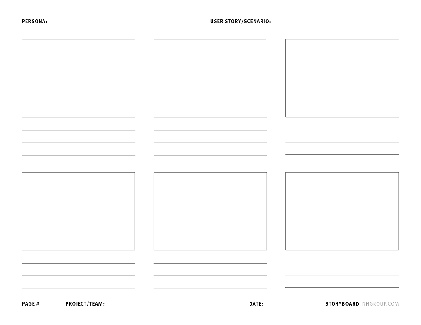 Storyboards Help Visualize Ux Ideas With Images