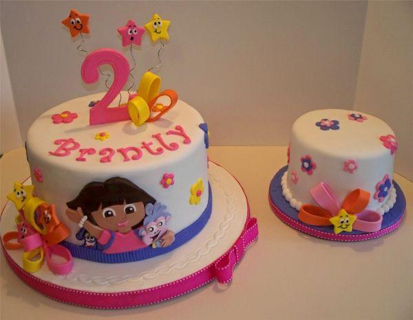 Dora the Explorer Childrens Cakes Pinterest Cake Birthdays