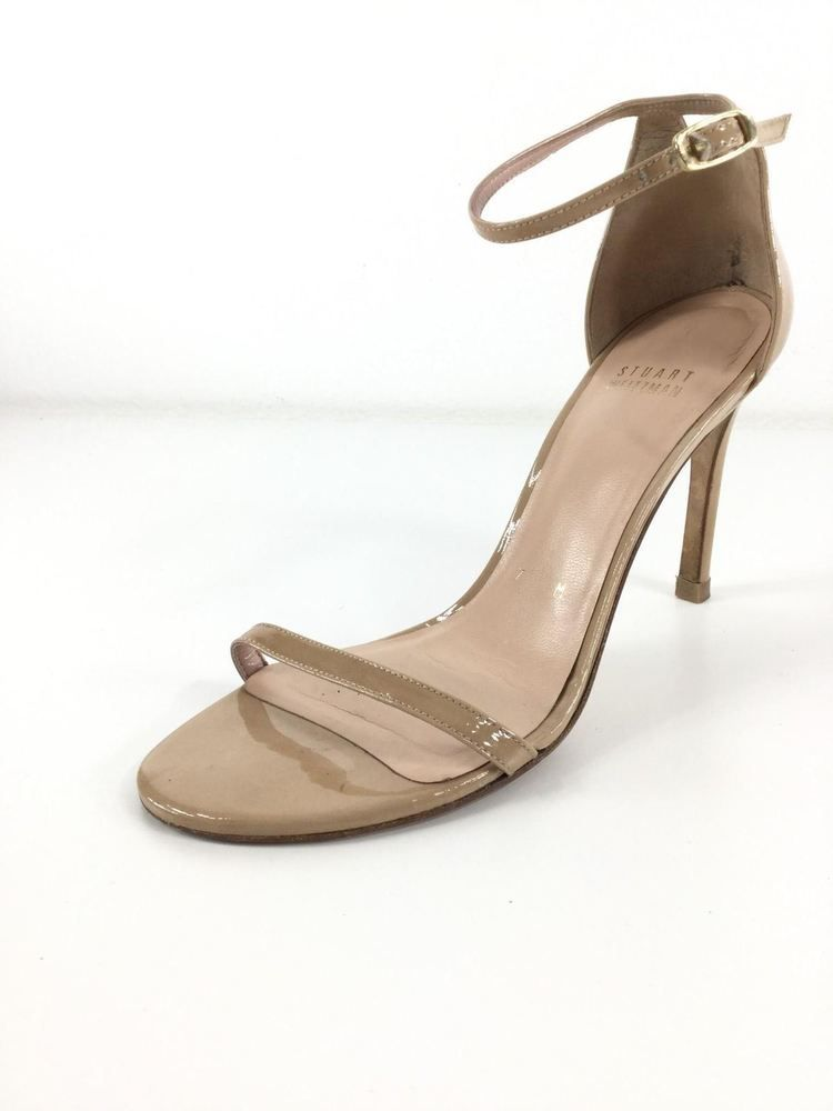 8e70d3346 857 Stuart Weitzman Naked Nude Patent Leather Heels Women Size 7 M  fashion   clothing
