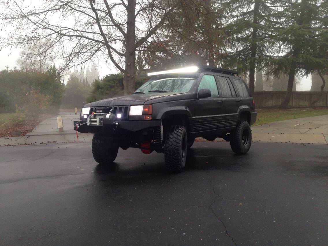 93 Jeep Zj Custom Front Bumper Custom Made Low Profile Roof Rack