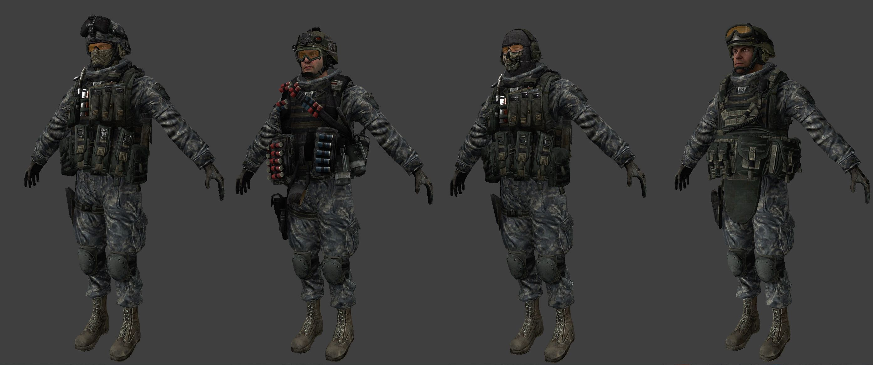 COD MW2 : US Soldiers (2787×1167) | Military in 2019